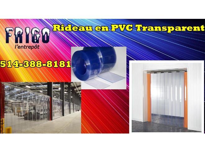 RIDEAU PVC POUR CHAMBRE FROIDE / CONGÉLATEUR for sale in St ...